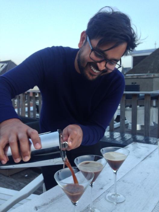 Seb's Espresso Martini's.