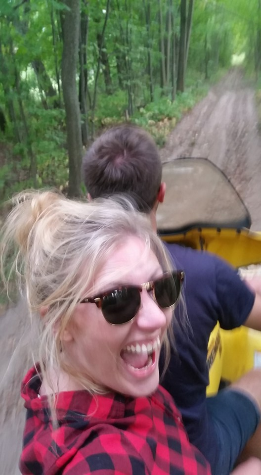On the ATV!