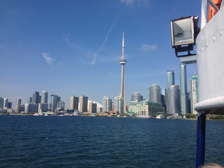 View of Downtown from the Ferry.
