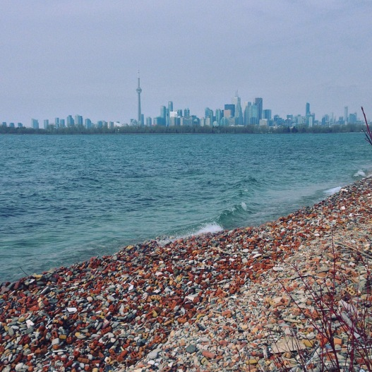 Skyline from Tommy Thompson Park.