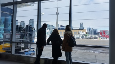 Inside Billy Bishop.