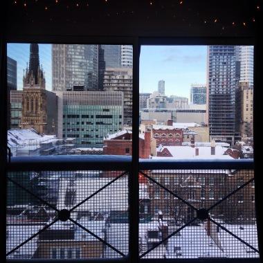 Snow from condo.