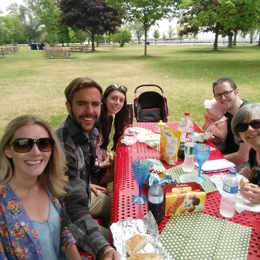 Picnic on Centre Island.